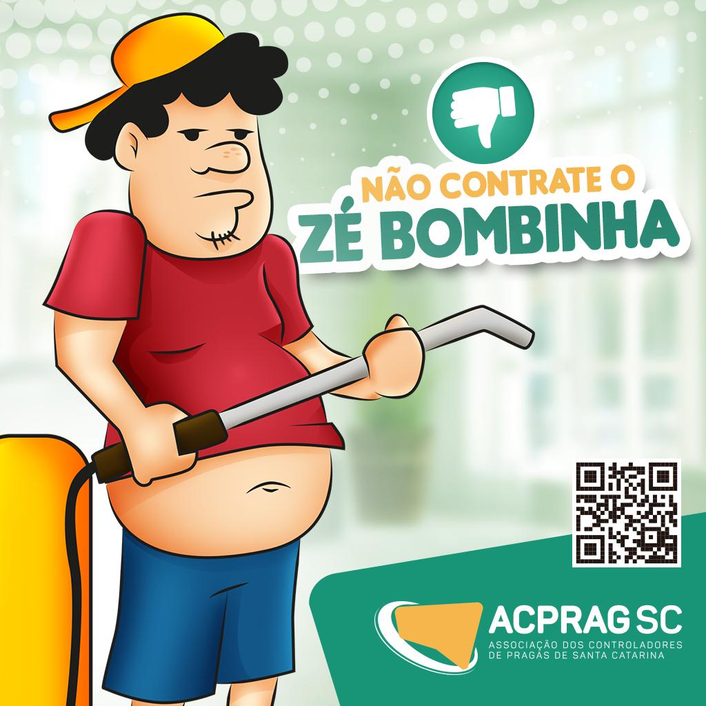 ACPRAG ALERTA, NÃO CONTRATE O ZÉ BOMBINHA!